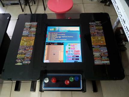 80s style Arcade Table 60 or 412 arcade games 12 month warranty Stafford Heights Brisbane North West Preview