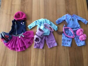 American Girl doll clothes (snowflake slippers set)