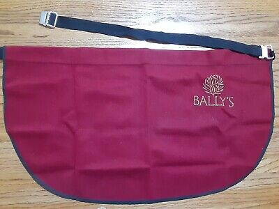 Bally's Casino Dealers Apron With Belt