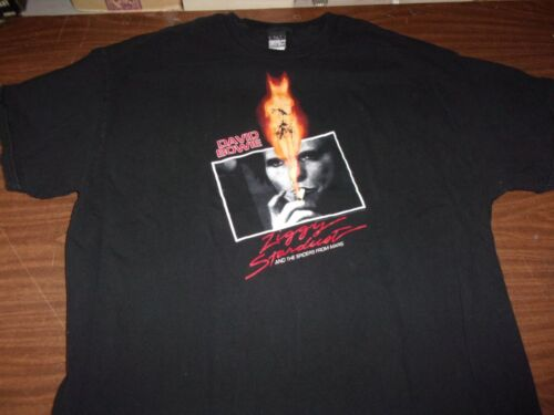 David Bowie Ziggy Stardust and the Spiders From Mars Concert Tee-Shirt 2XL