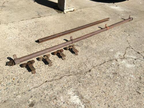 antique barn door roller track [ w/ 9