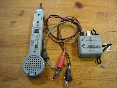 Greenlee 200ep G Tone Probe Tone Generator And 77hp-g 6a