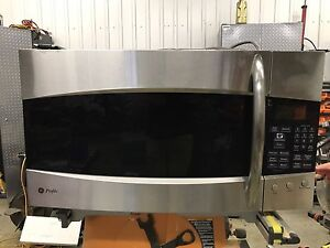 GE Profile under counter over stove Microwave/Convection