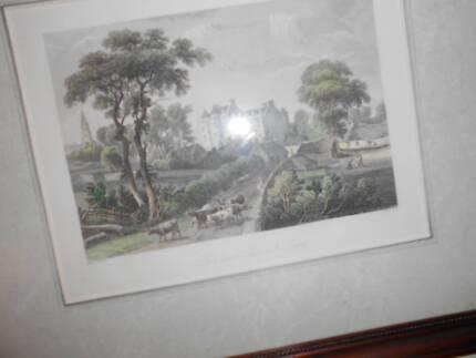 2 paintings by scottish painter John Fleming