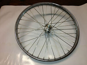 VINTAGE BIKE Cargo Butcher Bike wheel 20 x 2  1 3/4 inch westwood rod brake Tyre