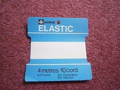 Vintage Haberdashery Packaging  for Woolworths Elastic for sale  Bakewell