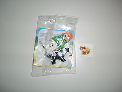Playmobil 123 1 2 3 Promo Give Away Women Dog