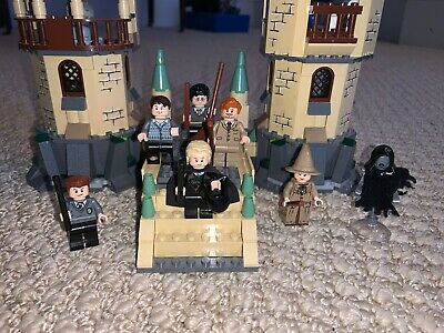 LEGO Harry Potter Hogwarts (4867) - COMPLETE! all minifigures and instruction