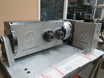 1-year Warranty Recently Serviced No Backlash Haas T5c2 Rotary Table 5-axis Bob