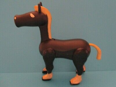 Vintage Fisher Price  LP    993 CASTLE  BLACK HORSE   SHOWS WARE