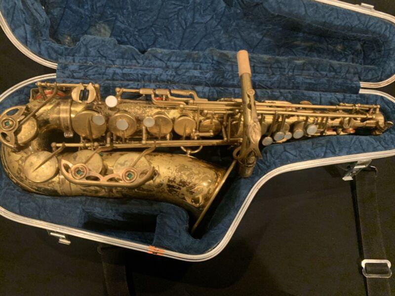 1973/4 Selmer Mark Vi Alto Saxophone, original lacquer, serial# 227,xxx