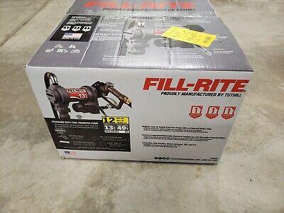 Fill-rite Sd1202h Fuel Transfer Pump14 Hp13 Gpm Brand New Sealed Box