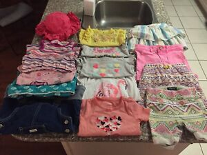Toddler 3T Summer Girl Cloth Lot