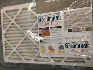 Furnace Air Filters new. buy two for $15.  Retail $15 each.