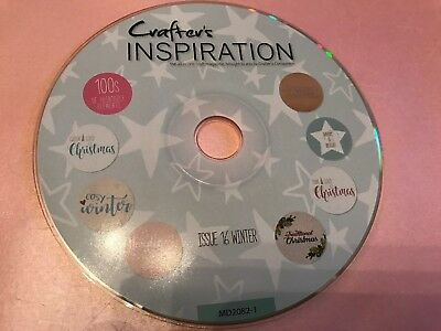 CRAFTERS INSPIRATION ISSUE 16 CRAFTING RESOURCE CD SARA DAVIES CRAFTERS COMP