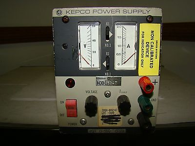 1pc. Kepco Jqe 55-2 M Power Supply No Cord Used