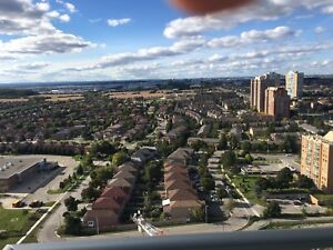 1 Room available in brand new top floor 2bed/2bath condo