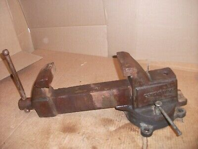 Columbian 604 4 M2 Machinist Vise -good Condition Made By Wilton Usa
