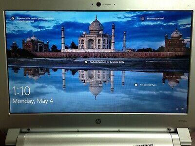 "HP 3105m 11.6"" NETBOOK AMD E-350 1.6GHz CPU 4GB RAM 320GB HDD Windows 10 PRO segunda mano  Embacar hacia Mexico"