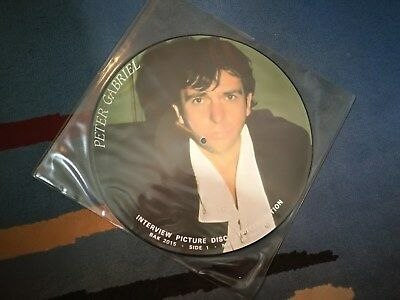 PETER GABRIEL PICTURE DISC/ GENESIS for sale  Shipping to South Africa
