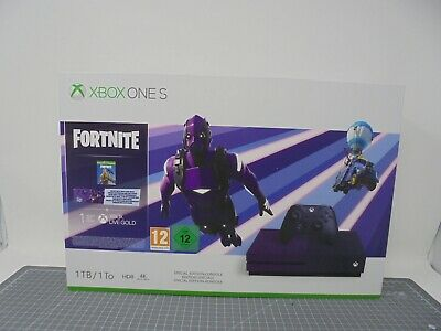 Microsoft Xbox One S 1TB Fortnite Battle Royale Special Edition CONSOLE ONLY