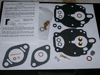 Zenith 267 Carb Carburetor Kit International Farmall Deere Allis Ford Usaquality