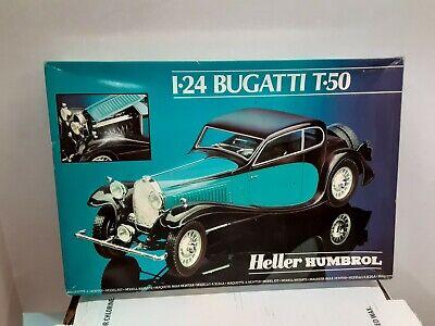 Heller 1/24 Bugatti T-50 Model #80706 Model Year 1982 Open Box