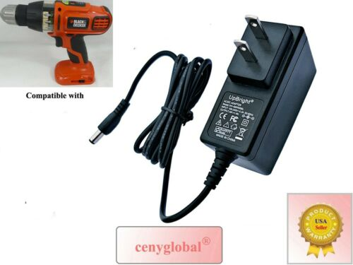 AC Adapter For Black & Decker SS12 SS12C SS12CR 12V Cordless NiCad Drill Charger