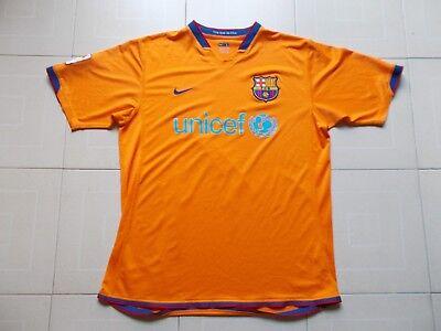 LFP FC Barcelona Unicef CAMISETA RARE JERSEY Futbol Nike FIT Shirt Maglia L  segunda mano Embacar c2ea9651bac