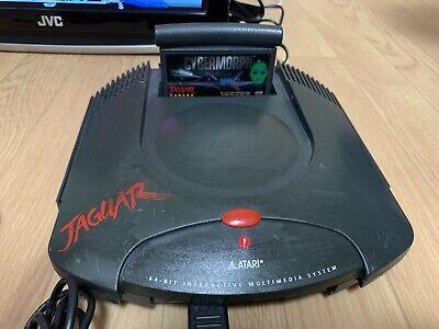 Atari Jaguar Launch Edition Black Console (NTSC) w/Cybermorph & S-Video cable