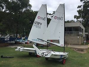 RS Aeros at Balmoral Sailing Club (similar to a Laser dinghy) Mosman Mosman Area Preview