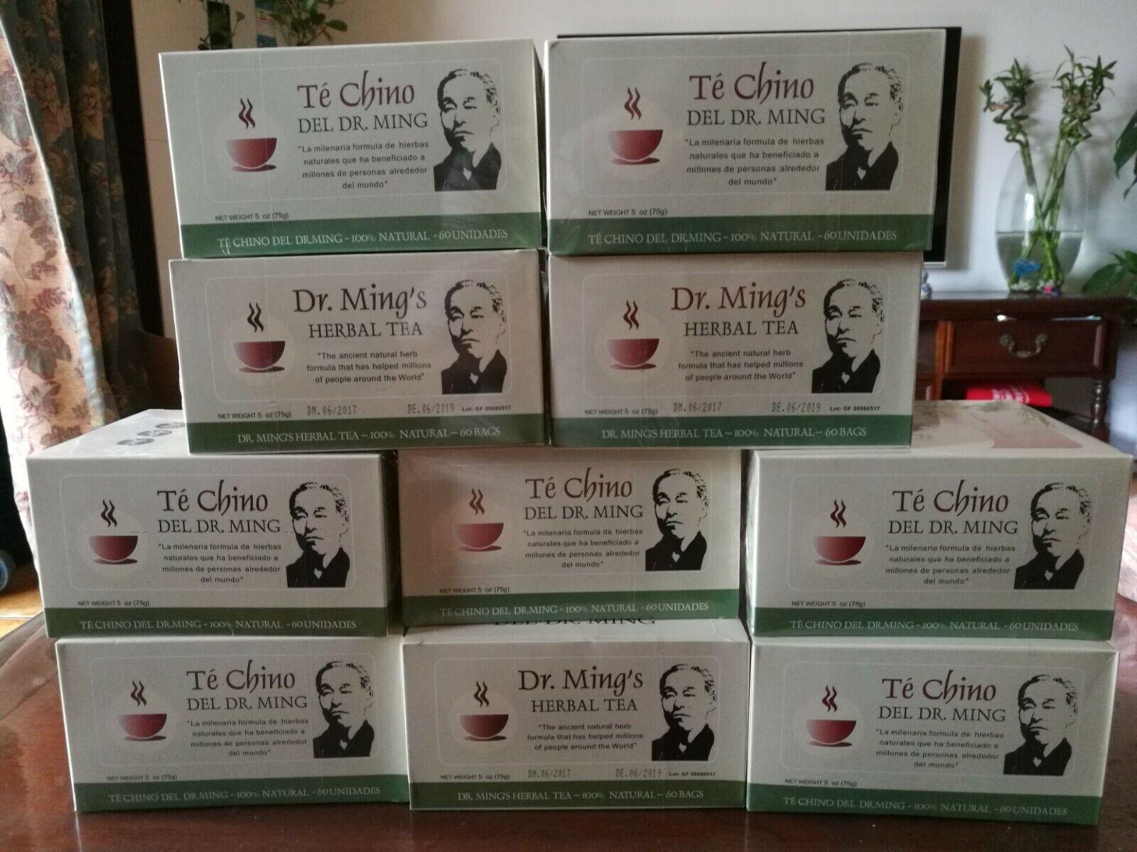 Dr. Ming Herbal Tea Weight Loss Antioxidant Natural Detox Slimming Tea  60bags
