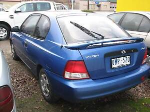 2000 Hyundai Accent Hatchback Ararat Ararat Area Preview