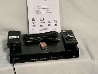Sony Bdp-s6700 4k Upscaling 3d Streaming Blu-ray Disc Player With Built in WiFi