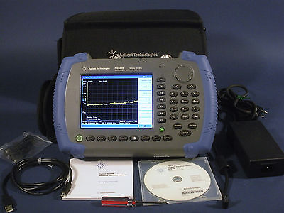Agilent N9340bpa3tg3 Hsa 100 Khz To 3 Ghz With Preamp And Tracking Generator