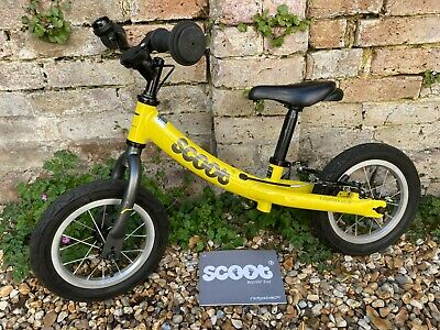 "Ridgeback Scoot Toddlers / Kids Balance Bike - Alloy frame, 12"" wheels"