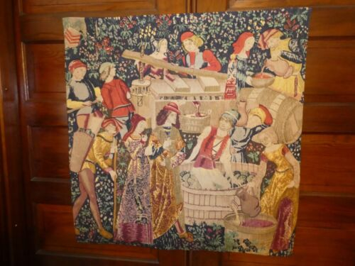 Editions d'art De Rambouillet Silkscreen Tapestry 37 x 38.5