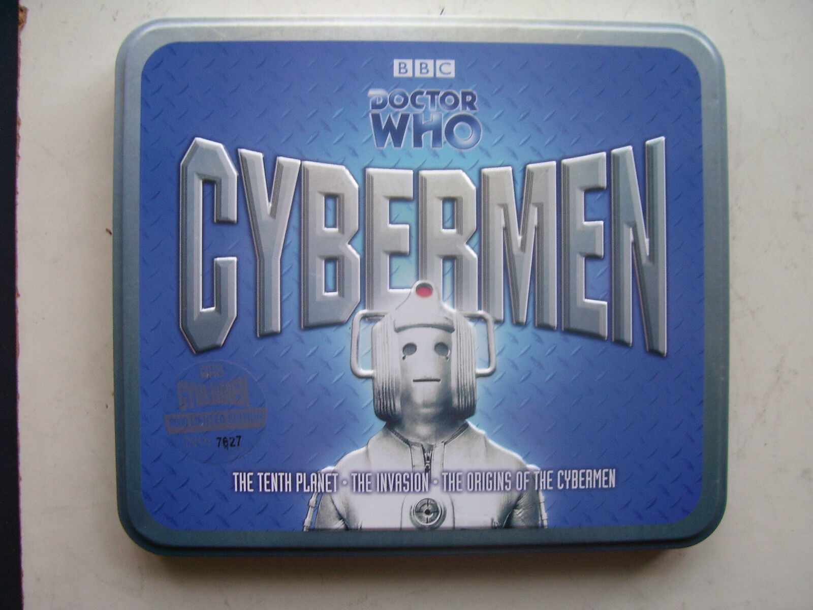 Doctor Who The Cybermen Limited  CD Tin Set  No 7627