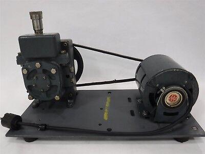 Used Welch Duo-seal Belt Driven High Vacuum Pump 13 Hp Model 1400 2f