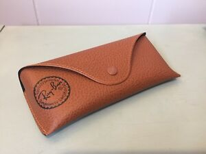 Brown Ray-Ban Glasses Sunglasses Case  Holder