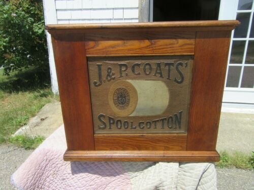 J&P Coates  Spool Cabinet