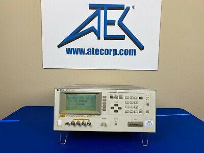 Hp-agilent 4284a Precision Lcr Meter 20hz-1mhz