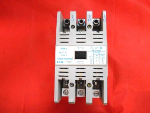 EATON AE16LN0 CONTACTORS SIZE L SERIES A1 600V 85 A 3P - RECON/TESTED