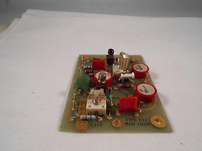 670-0703-00 Tektronix Type 453 Mod 703h Circuit Card New Old Stock