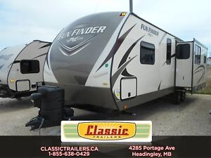 2017 Fun Finder 27IK Check out this couples rear kitchen trailer