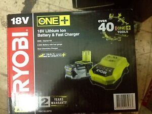 Ryobi One+ 18V 5.0Ah Battery and Charger Kit Fitzroy Yarra Area Preview