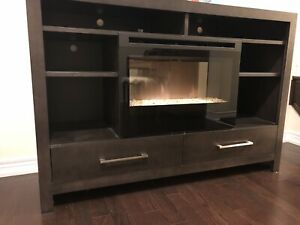 Fireplace Media Console •• Delivery Available