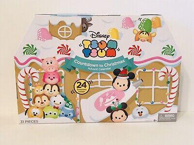 NEW Disney Tsum Tsum Countdown to Christmas Advent Calendar Tigger Stitch Eeyore