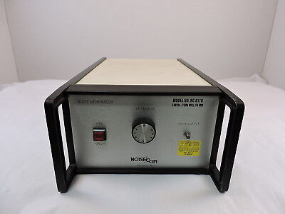 Noisecom Nc6110 Noise Generator 100hz To 1.5ghz - 90 Day Warranty - Tested