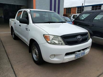 2007 Toyota Hilux Dual Cab Ute Fyshwick South Canberra Preview